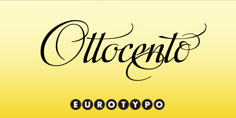 Ottocento [1 Font]   The Fonts Master