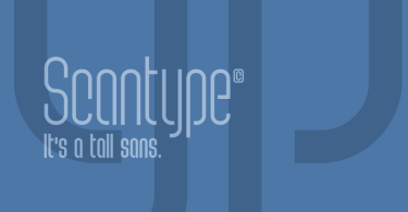 Scantype [3 Fonts] | The Fonts Master