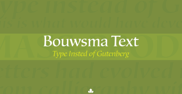 Bouwsma Text [8 Fonts] | The Fonts Master