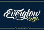 Everglow Script [1 Font] | The Fonts Master