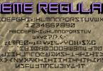 Meme [1 Font] | The Fonts Master