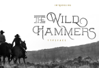 The Wild Hammers [3 Fonts] | The Fonts Master
