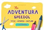 Adventura Speedol [4 Fonts] | The Fonts Master