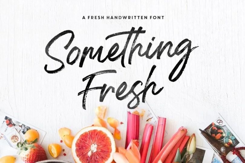 Something Fresh [3 Fonts] | The Fonts Master