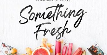 Something Fresh [3 Fonts]