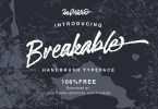 Breakable [1 Font] | The Fonts Master