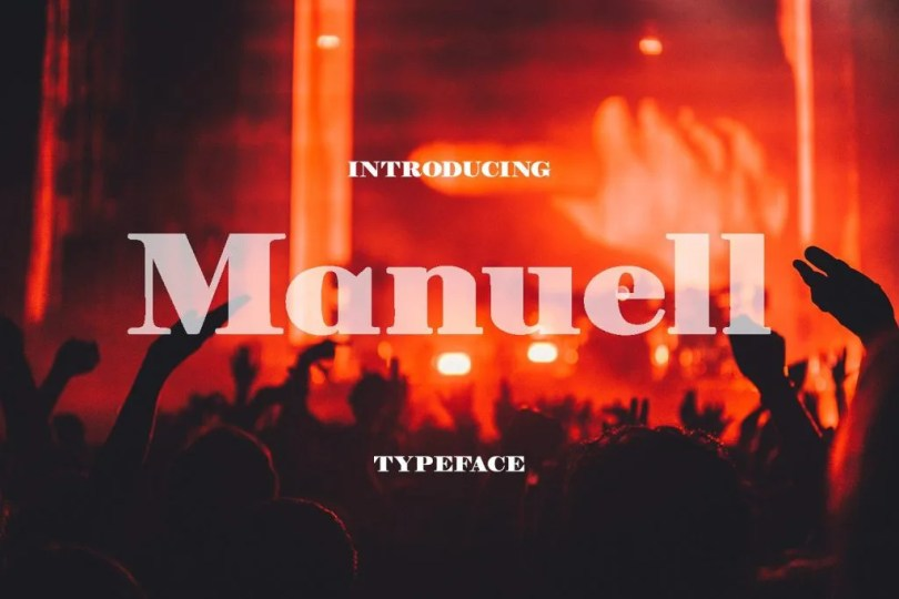 Manuell [1 Font] | The Fonts Master