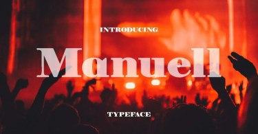 Manuell [1 Font] | The Fonts Master