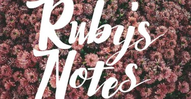 Ruby'S Notes [1 Font] | The Fonts Master