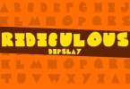 Ridiculous [1 Font] | The Fonts Master