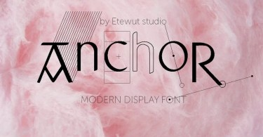 Anchor [2 Fonts] | The Fonts Master