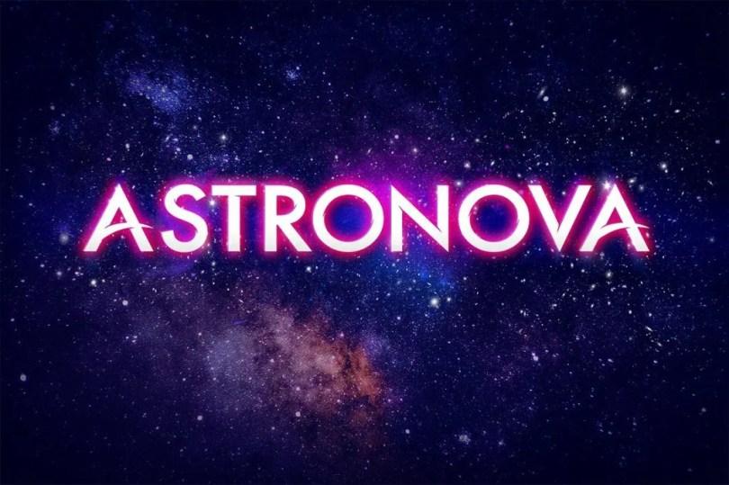 Astronova [2 Fonts] | The Fonts Master
