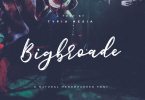 Bigbroade [1 Font] | The Fonts Master