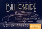 Billionaire Medium Grunge [1 Font] | The Fonts Master