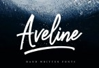 Aveline Script [3 Fonts] | The Fonts Master