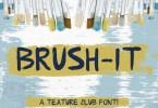 Brush-It [1 Font] | The Fonts Master