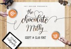 Chocolate Milky [3 Fonts] | The Fonts Master