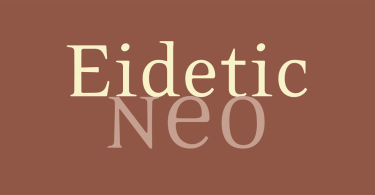 Eidetic Modern &Amp; Eidetic Neo Super Families [15 Fonts] | The Fonts Master