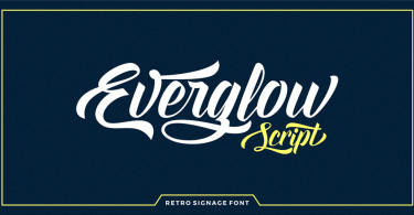 Everglow Script [1 Font]