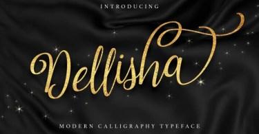 Dellisha [1 Font] | The Fonts Master