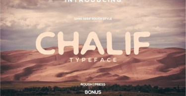 Chalif [2 Fonts] | The Fonts Master