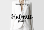Helmut Script [1 Font] | The Fonts Master