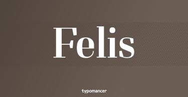 Felis [15 Fonts] | The Fonts Master