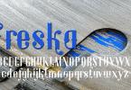 Freska [1 Font] | The Fonts Master