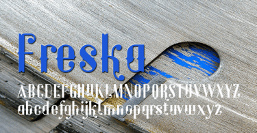 Freska [1 Font] | The Fonts Master