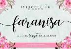 Faranisa Script [1 Font] | The Fonts Master