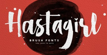 Hastagirl [4 Fonts] | The Fonts Master