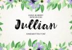 Jullian [1 Font] | The Fonts Master