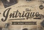 Intrique Script [1 Font] | The Fonts Master