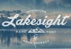 Lakesight [1 Font] | The Fonts Master