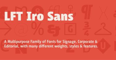 Lft Iro Sans Super Family [30 Fonts] | The Fonts Master