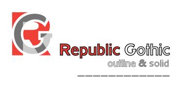 Hwt Republic Gothic [2 Fonts] | The Fonts Master