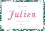 Julien [1 Font] | The Fonts Master