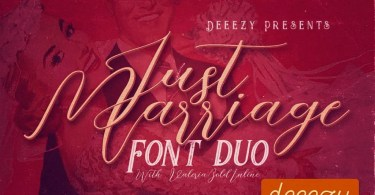 Just Marriage [4 Fonts] | The Fonts Master