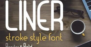 Liner [2 Fonts] | The Fonts Master