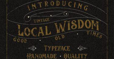Local Wisdom [1 Font]