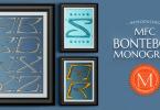 Mfc Bontebok Monogram [1 Font] | The Fonts Master