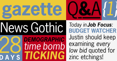 News Gothic [4 Fonts] | The Fonts Master