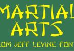 Martial Arts Jnl [1 Font] | The Fonts Master