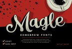 Magle [2 Fonts] | The Fonts Master