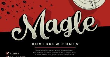 Magle [2 Fonts] | The Fonts Master