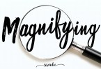 Magnifying Duo [4 Fonts] | The Fonts Master