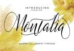 Montalia Script [1 Font] | The Fonts Master
