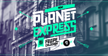 Planet Express [3 Fonts] | The Fonts Master