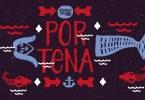 Portena [2 Fonts] | The Fonts Master