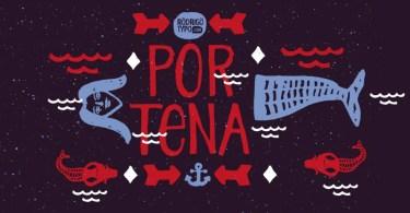 Portena [2 Fonts]
